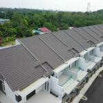 Coloroof Plus 12 - Tropical Brown_villa_monier_rooftile_installation