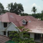 Perspective - Russet Brown concrete new rooftile house image