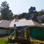 Plana - Brown flat clayrooftile ongoing project site