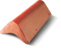 Barge End Tile designed for barge area stopper rooftile
