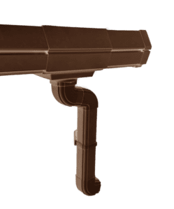 Luxron Rain Water Gutter System - Reddish Brown