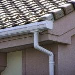 Luxron - Rain Water Gutter Sytem with rooftile - White
